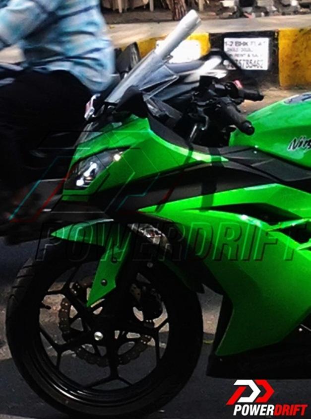 2013 Kawasaki Ninja 300R (spied) - FrontFairing