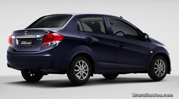Honda Brio Amaze sedan reaches ARAI facility in Pune