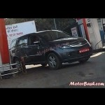 2013 Tata Aria facelift