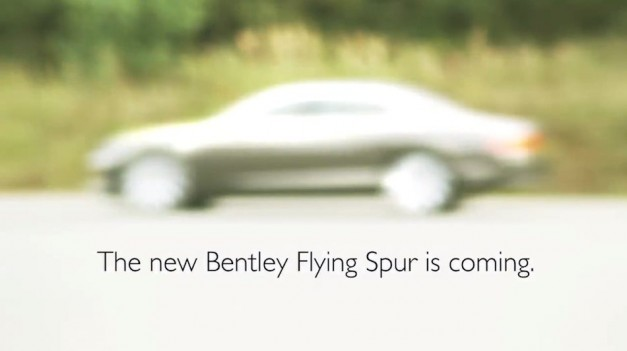 2014 Bentley Continental Flying Spur teaser released