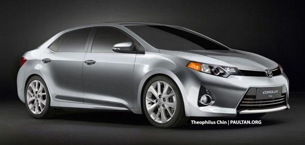 2014 Toyota Corolla - FrontView