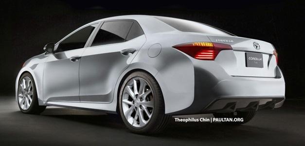 2014 Toyota Corolla - RearView