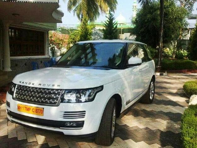 Kerala's first 2013 Range Rover