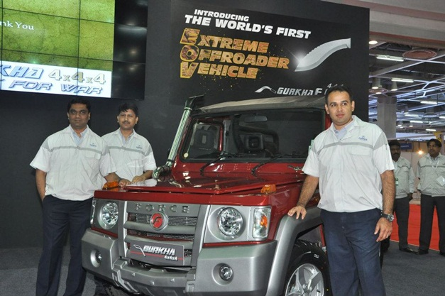2013 Force Gurkha SUV - Soft Top BS3 4WD