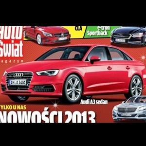 Audi A3 sedan (Photo Rendering)