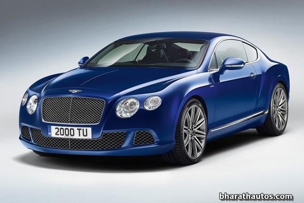 2013 Bentley Continental GT Speed - FrontView