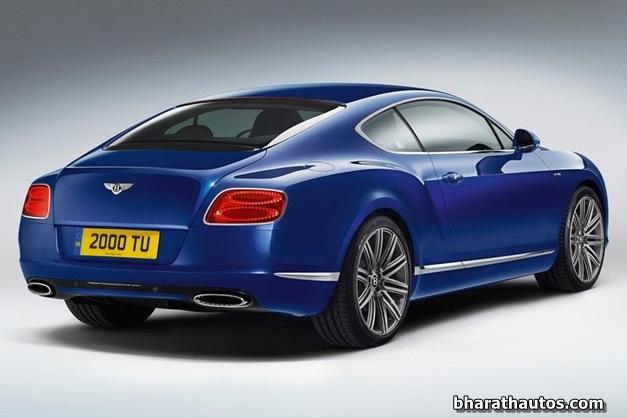2013 Bentley Continental GT Speed - RearView