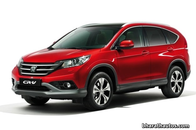 4th Generation Honda CR-V - FrontView