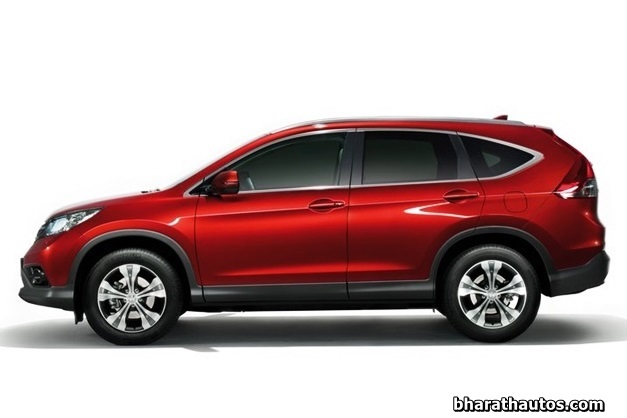 4th Generation Honda CR-V - SideView