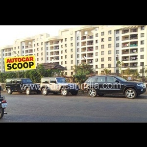 Jeep's India line-up spotted at Pune