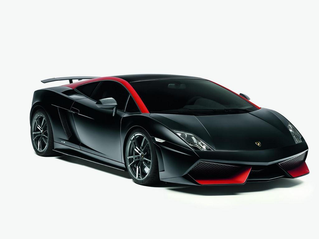 The newest models of Lamborghini