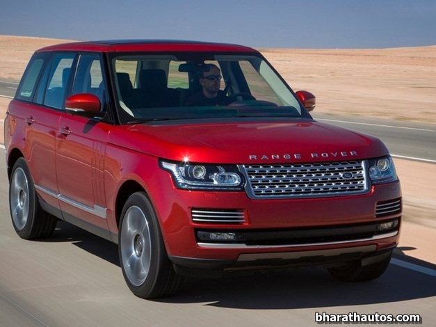 2013 Range Rover - FrontView