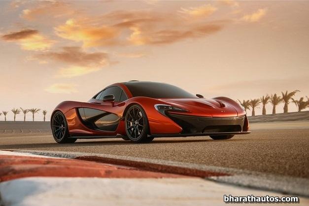 McLaren P1 supercar - FrontView