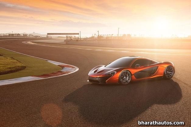 McLaren P1 supercar - 002