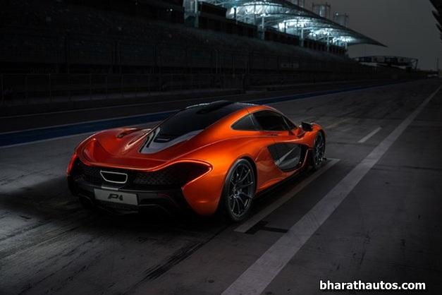 McLaren P1 supercar - 005