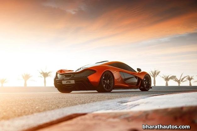 McLaren P1 supercar - 004