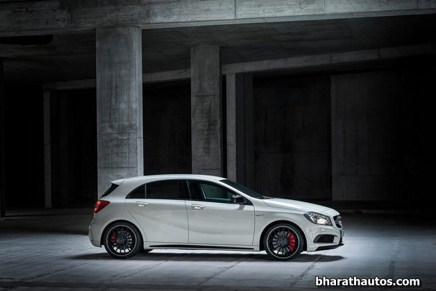 2014 Mercedes-Benz A45 AMG - SideView