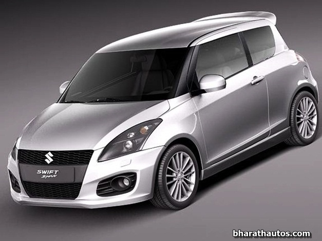 2012 Suzuki Swift Sport - FrontView