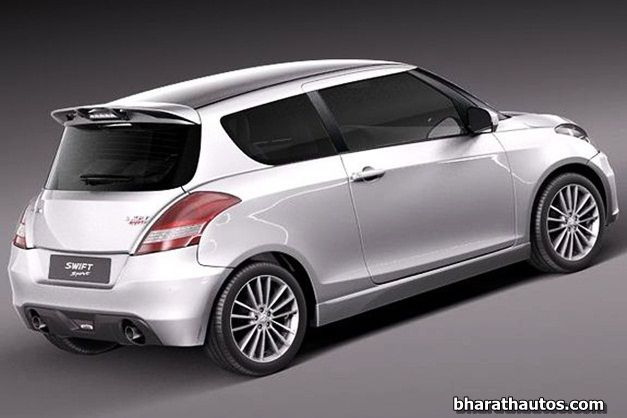 2012 Suzuki Swift Sport - RearView