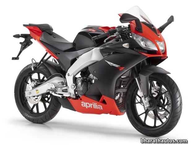 Aprilia's 200cc bike for India