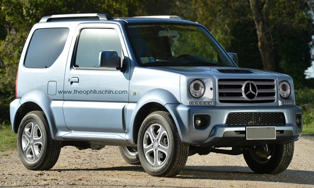 Land Rover Defender India >> Photo Rendering - Mercedes mulling GLG baby G-wagen for 2016