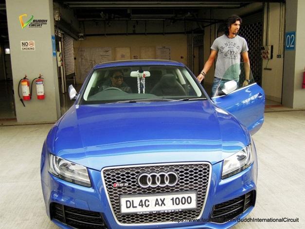 Ishant Sharma and his Audi RS 5