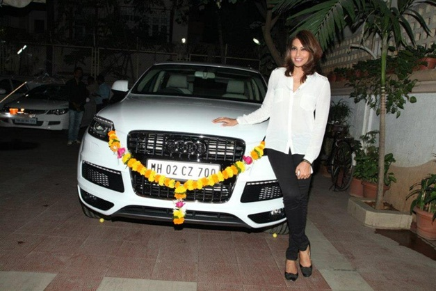 Bipasha Basu gifts herself a new Audi Q7
