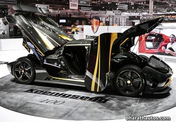 2014 Koenigsegg Agera S Hundra - SideView