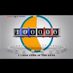 1 lakh units of Maruti Suzuki Alto 800 sold in 124 days