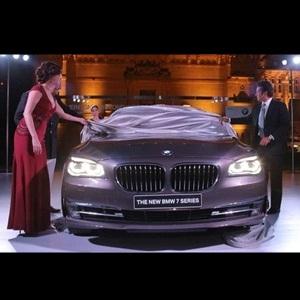 2013 BMW 7-Series unveiled by Sachin Tendulkar in Jodhpur