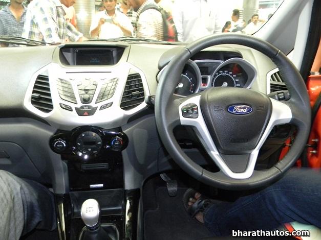 Ford EcoSport Compact SUV - DashView