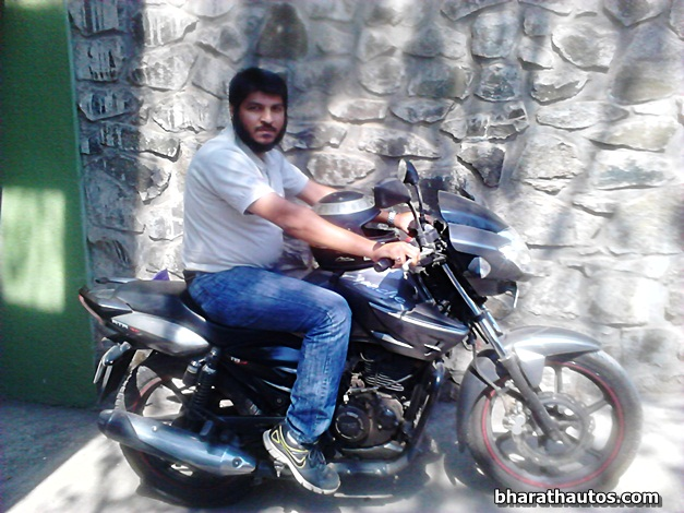 Yusuf Dabhiya's Top 10 Tips for Motorcycling in India - FrontView