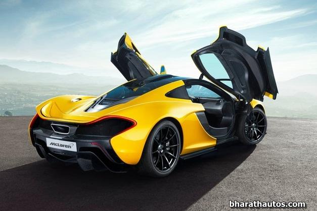 2014 McLaren P1 - RearRightSideView