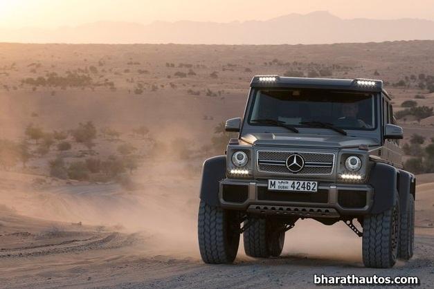 Mercedes-Benz G63 AMG 6×6 off-road Concept - 002
