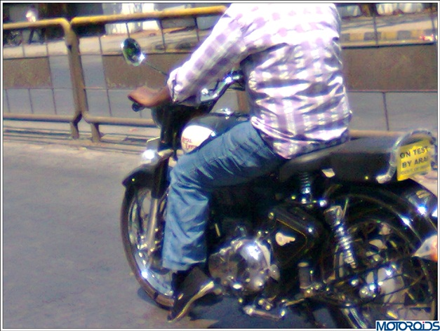 Royal Enfield Classic 500 (spied) - 003