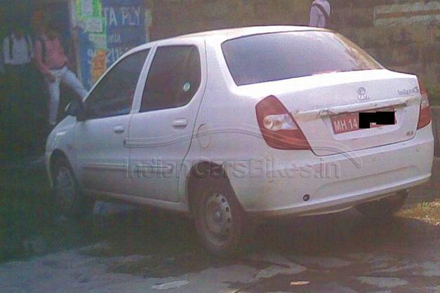 Tata Indigo eCS facelift (2013) - RearView