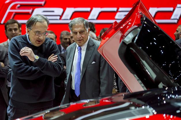 Tata at the Geneva Auto Show