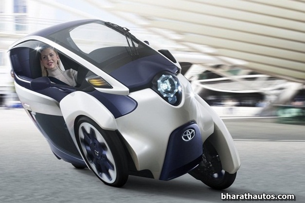 2013 Toyota i-Road Concept - FrontView