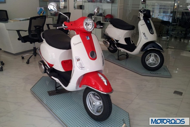 Vespa LX125 scooter dual-tone color - 002