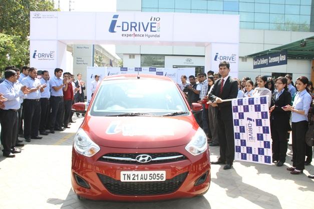Hyundai i-Tech i10 flagged-off in New Delhi - 002