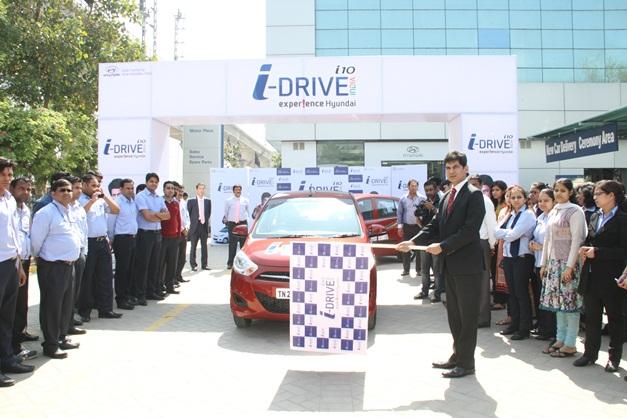Hyundai i-Tech i10 flagged-off in New Delhi - 001