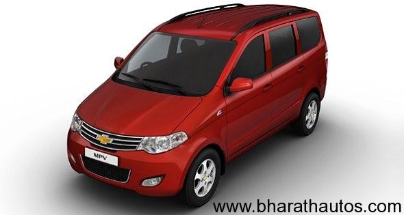 Chevrolet Enjoy MPV - FrontView