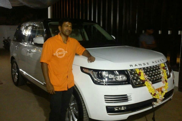 Who Owns Land Rover >> Puneeth Rajkumar gifts himself an all-new 2013 Land Rover Range Rover