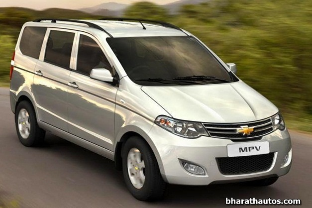 Chevrolet Enjoy Mpv Scheduled To Launch Later This Month