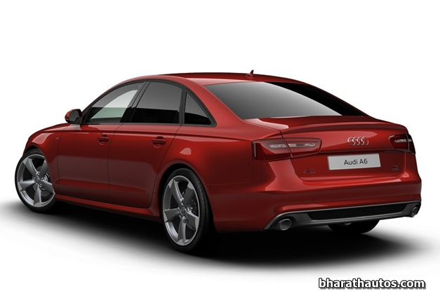 2013 Audi A6 special edition - RearView