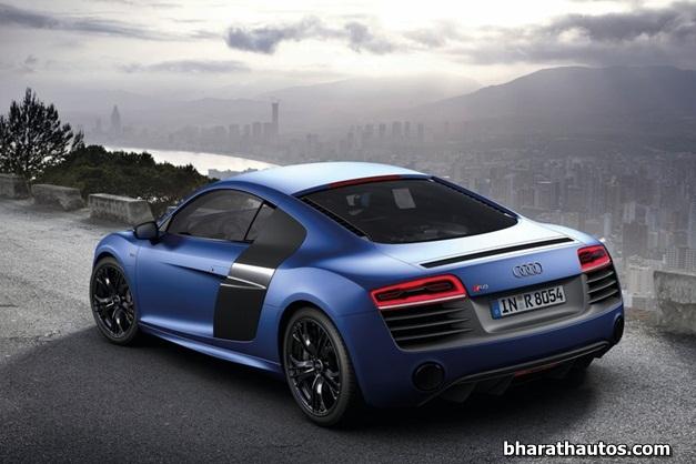 2013 Audi R8 V10 Plus Rearview Bharathautos Automobile News