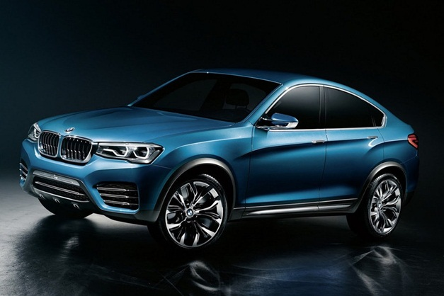 New BMW X4 Concept leaked images