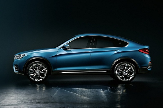 New BMW X4 Concept leaked images - 001