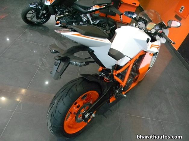 2013 KTM 1190 RC8 R Superbike - RearView