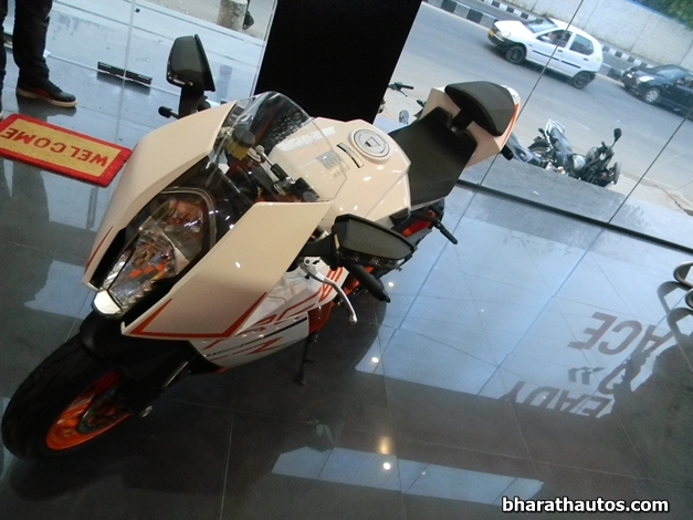 2013 Ktm 1190 Rc8 R Superbike Arrives At Bangalore